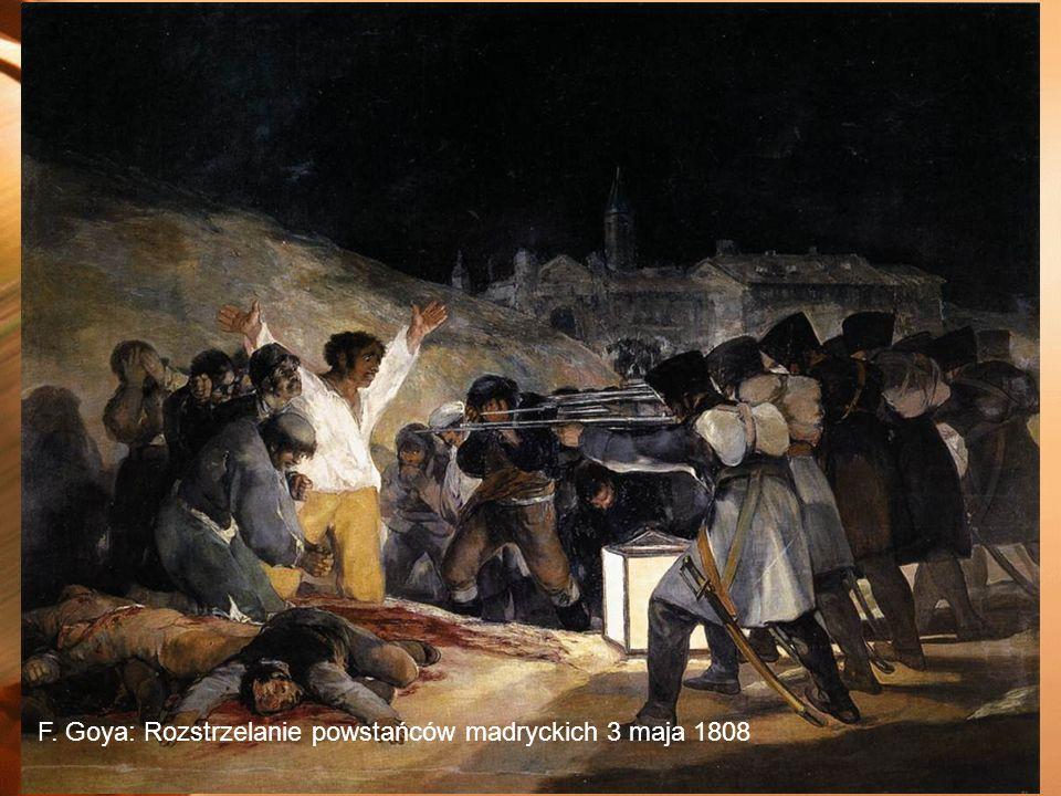 2014-01-04 F. Goya: Rozstrzelanie powstańców madryckich 3 maja 1808