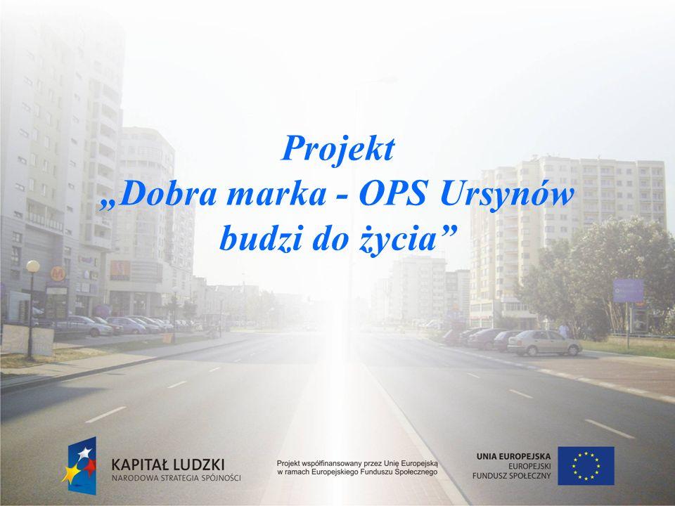 Dane ogólne Projekt systemowy realizowany w ramach Programu Operacyjnego Kapitał Ludzki, Priorytet VII Promocja integracji społecznej, Działanie 7.1.