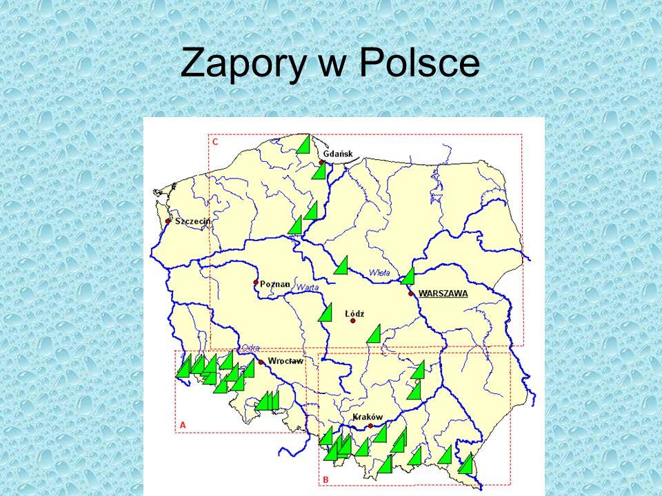 Zapory w Polsce