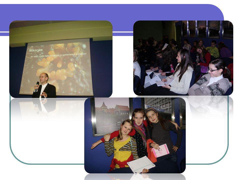 Sekcje naukowe: W ramach projektu realizowane są zajęcia rozwijające zainteresowania uczniów.