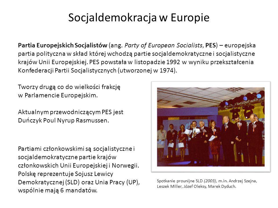 Partia Europejskich Socjalistów (ang. Party of European Socialists, PES) – europejska partia polityczna w skład której wchodzą partie socjaldemokratyc