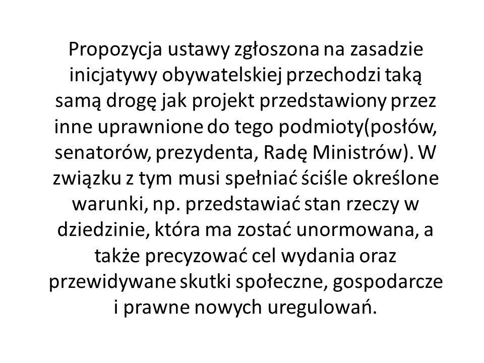 Obywatelski projekt ustawy 1.