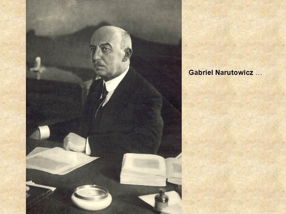 Gabriel Narutowicz …