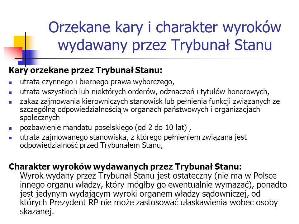 Trybunał Konstytucyjny Gmach Trybunału Konstytucyjnego w Warszawie Prezes Trybunału Konstytucyjnego prof.