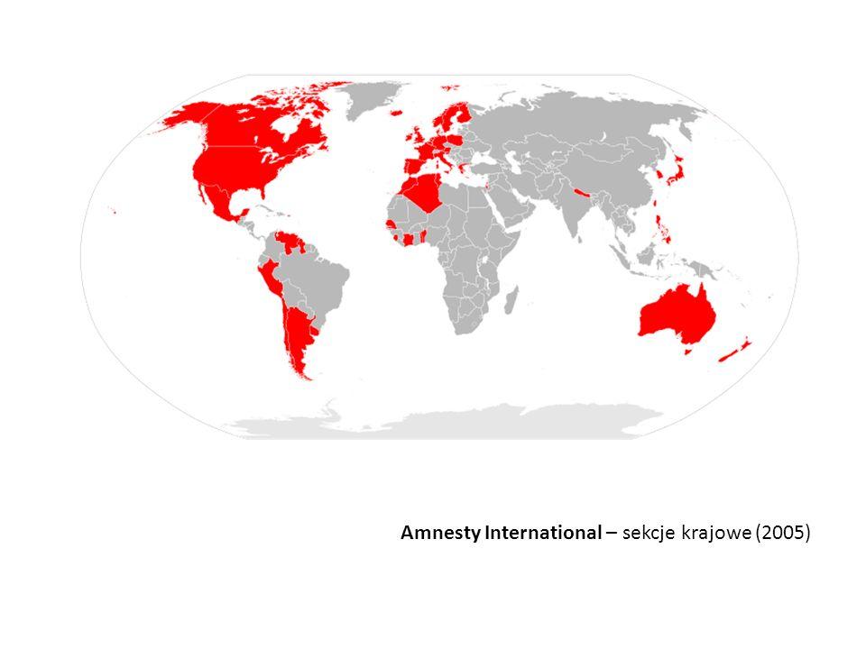 Amnesty International – sekcje krajowe (2005)