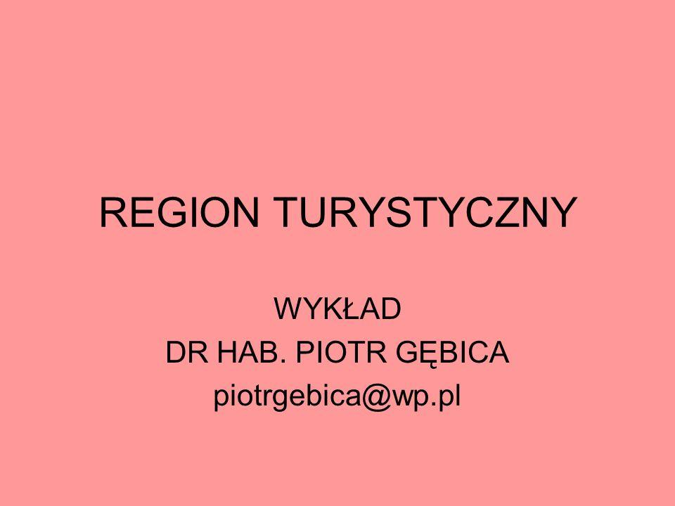 WYKŁAD REGION TURYSTYCZNY- 3UTZ, grupa GW01 - 10 godzin: 2 października (2 godz.), 17 października (2 godz.+2 godz) 12 grudnia (2 godz.) 9 stycznia (2 godz.