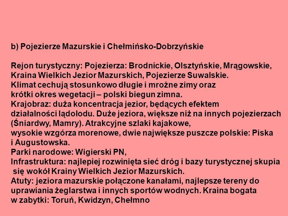Wyżyna Małopolska Rejon turystyczny: Jura Krakowsko - Częstochowska, Zagłębie staropolskie, Góry Świętokrzyskie.