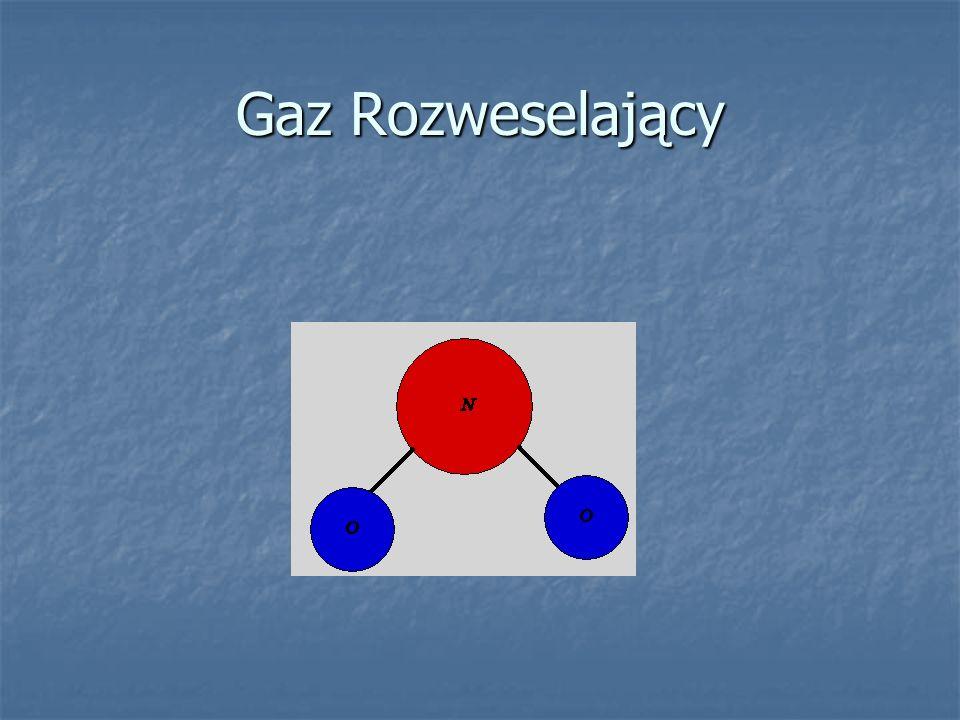 13.Ozon Trójwymiarowy model cząsteczki ozonu Wzór strukturalny ozonu
