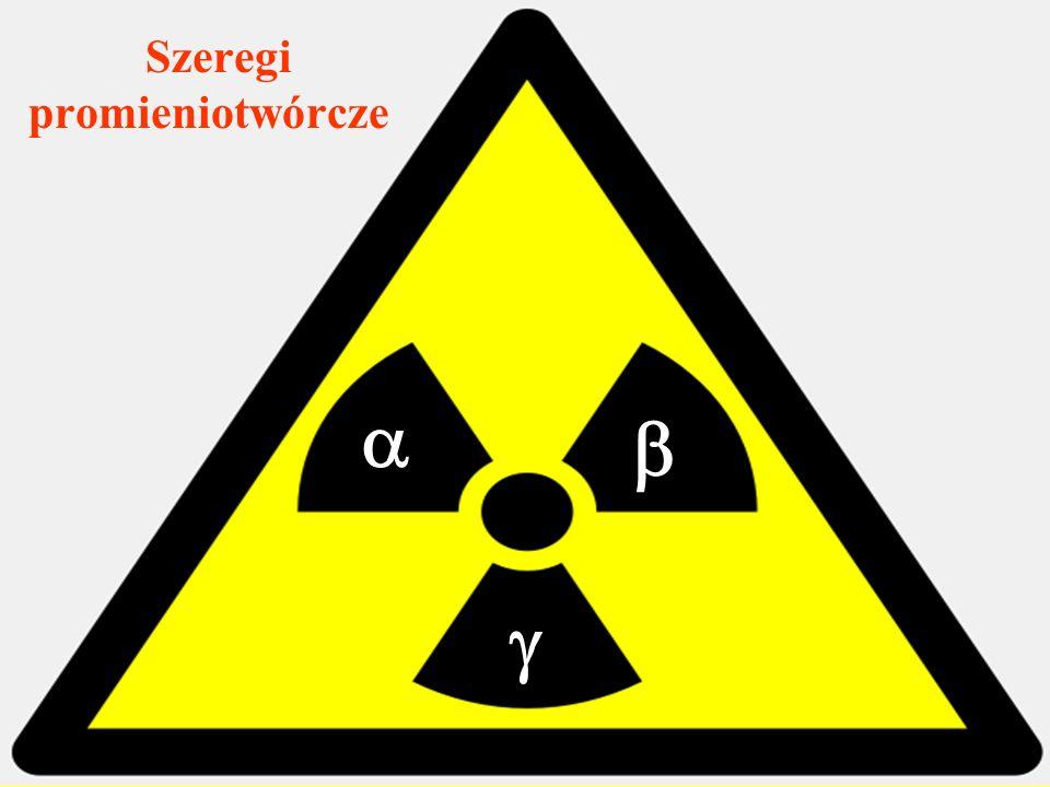 Co to jest szereg promieniotwórczy.