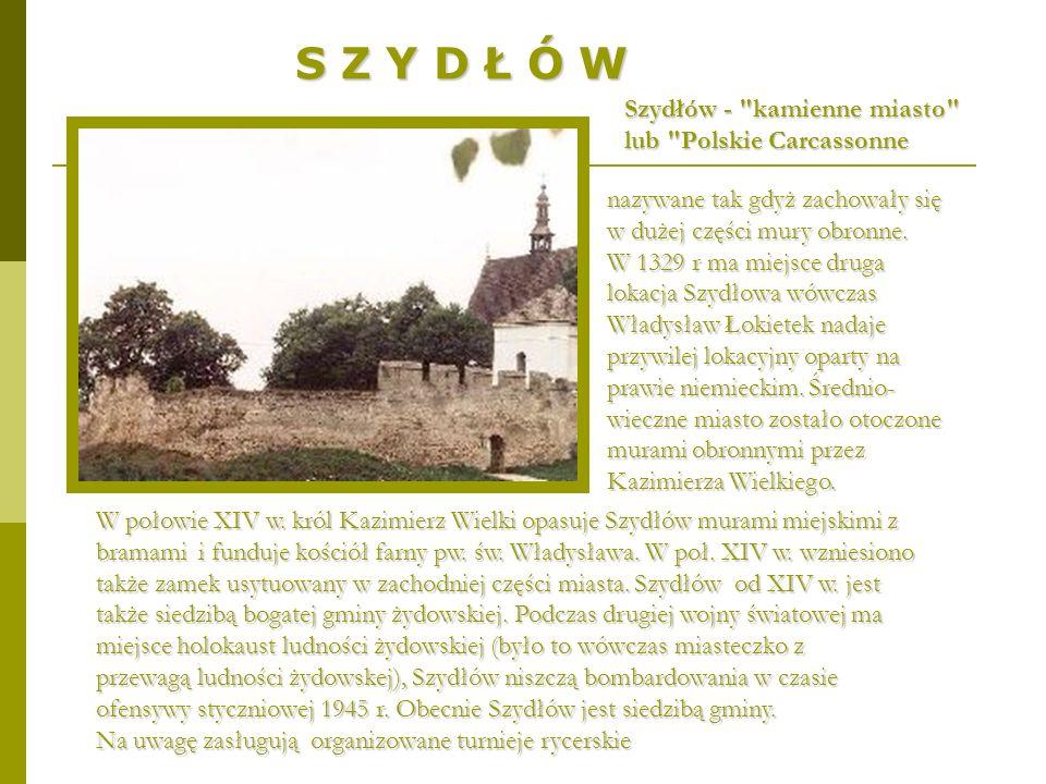 S Z Y D Ł Ó W Szydłów -