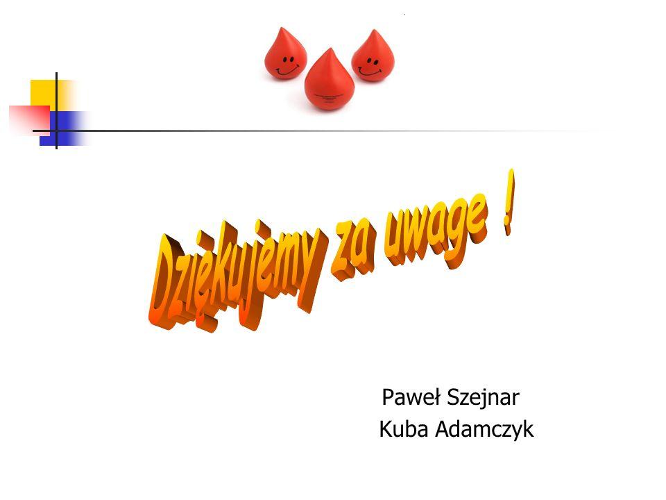 Paweł Szejnar Kuba Adamczyk