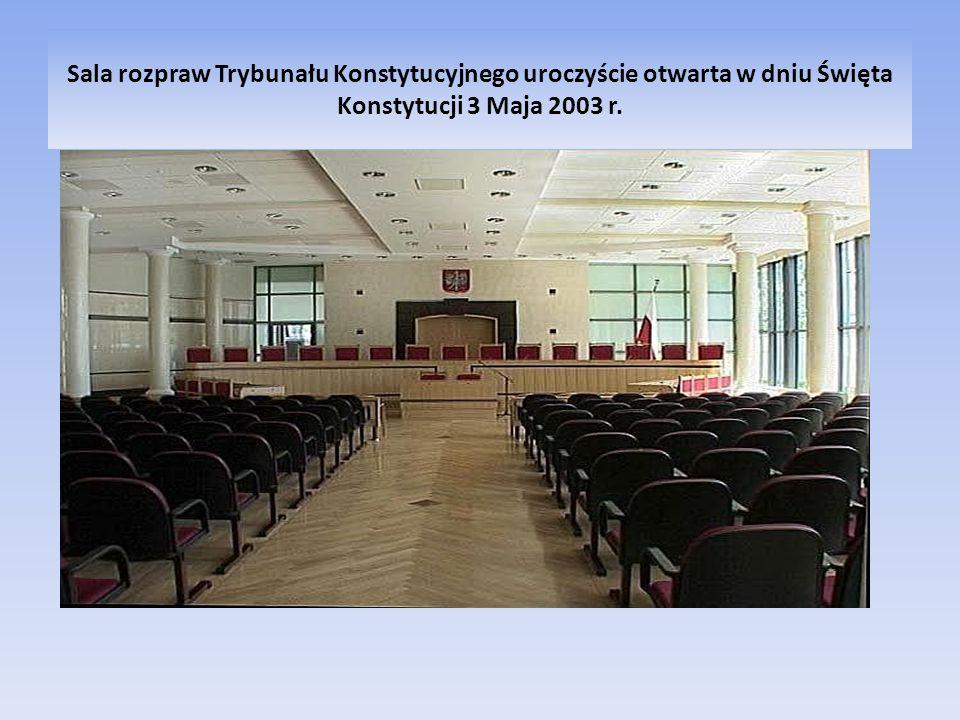 TRYBUNAŁ KONSTYTUCYJNY RZECZYPOSPOLITEJ POLSKIEJ Skład Trybunału Konstytucyjnego Art.194 Konstytucji RP.