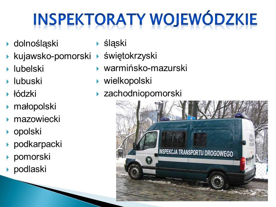 Inspekcją Transportu Drogowego kieruje Główny Inspektor Transportu Drogowego, który stanowi centralny organ administracji rządowej, podległy ministrowi do spraw transportu.
