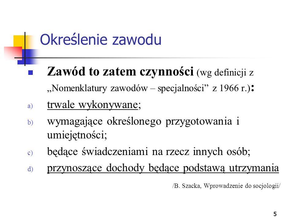 36 Prestiż zawodów a sprawowanie władzy Sprawowanie władzy - niezależnie od jej rodzaju - nie wzbudza szacunku Polaków.
