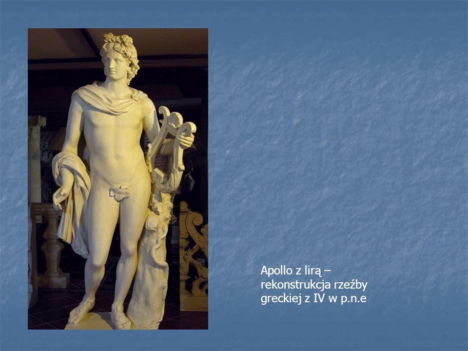 Apollo z lirą – rekonstrukcja rzeźby greckiej z IV w p.n.e