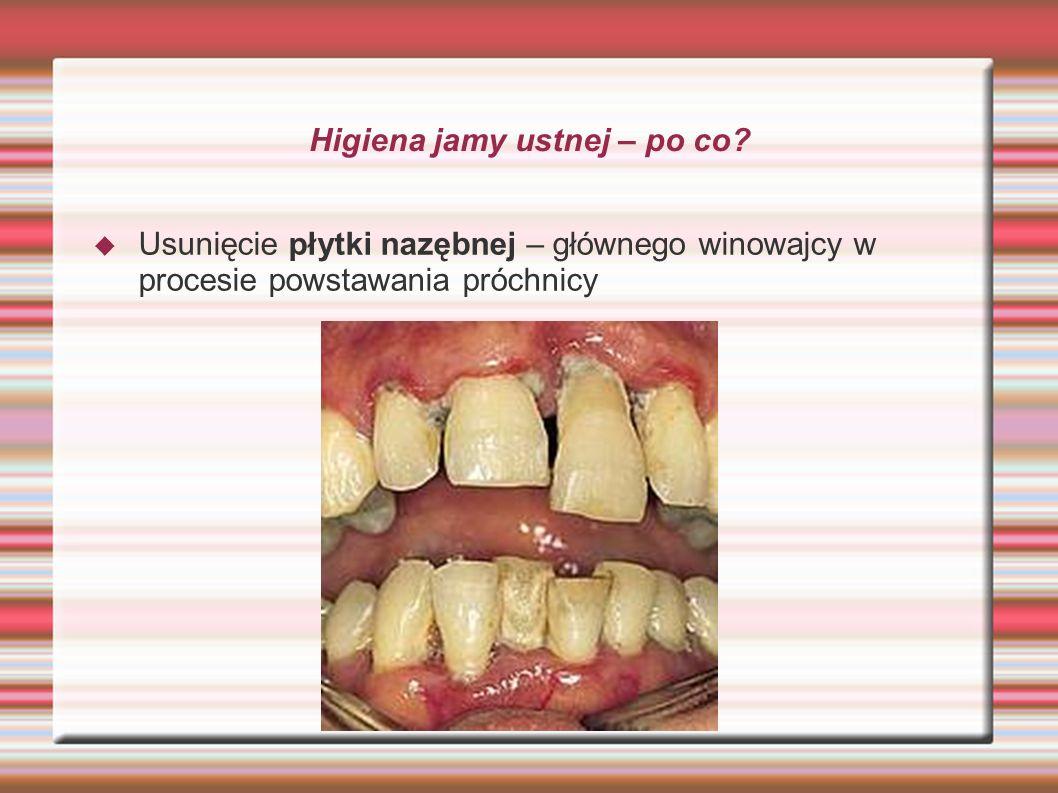 Higiena jamy ustnej – po co? Usunięcie płytki nazębnej – głównego winowajcy w procesie powstawania próchnicy
