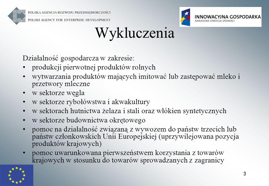 24 Działanie 1.4-4.1 POIG Wymogi formalne - projekt: projekt jest realizowany na terytorium Rzeczypospolitej Polskiej (jeśli dotyczy), realizacja przedsięwzięcia mieści się w ramach czasowych działania PO IG, kwalifikowalność wydatków zaplanowanych w projekcie w ramach działania, wnioskowana kwota wsparcia jest zgodna z zasadami finansowania projektów obowiązujących dla działania, projekt ma co najmniej neutralny wpływ na realizację polityk horyzontalnych wymienionych w art.