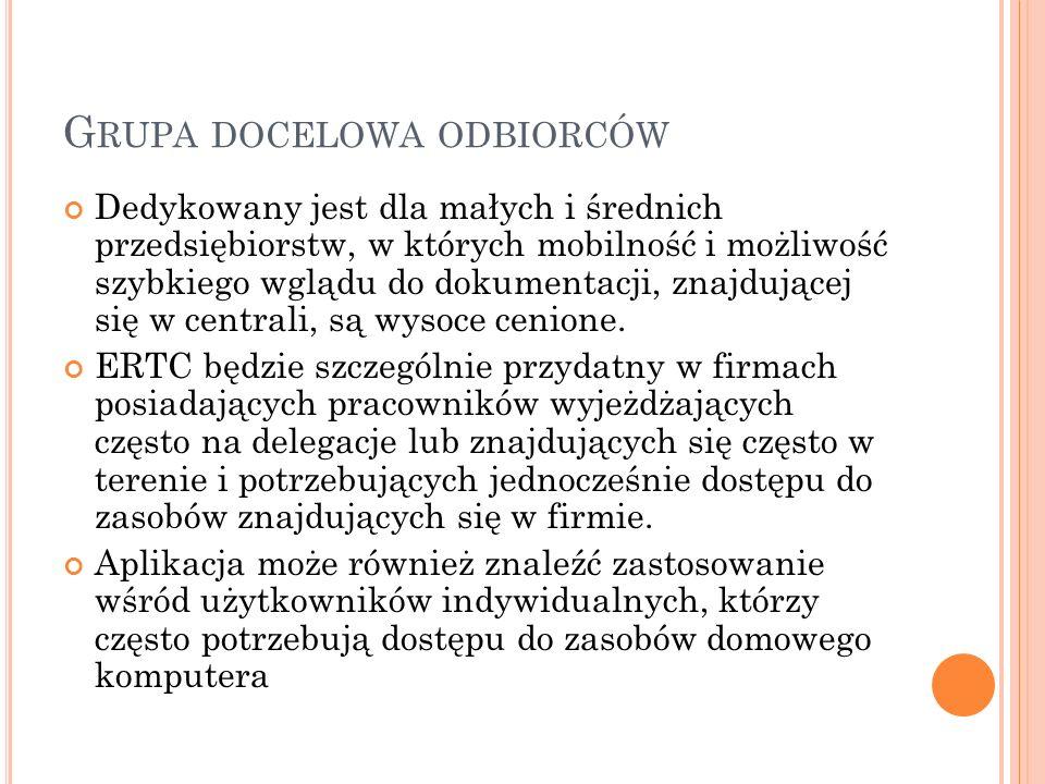 G RUPA DOCELOWA CD.
