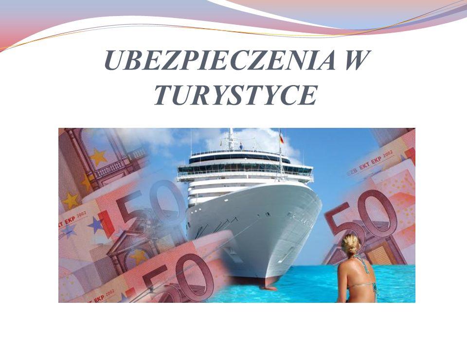 W branży turystycznej, ze względu na podmiot, którego dotyczy ubezpieczenie można wyróżnić dwa rodzaje ubezpieczeń: Ubezpieczenia dla turystów Ubezpieczenia dla organizatorów turystyki