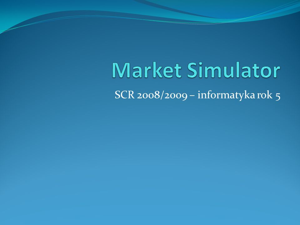 Agenda Wizualizacja 3D diagramu MarketSpace