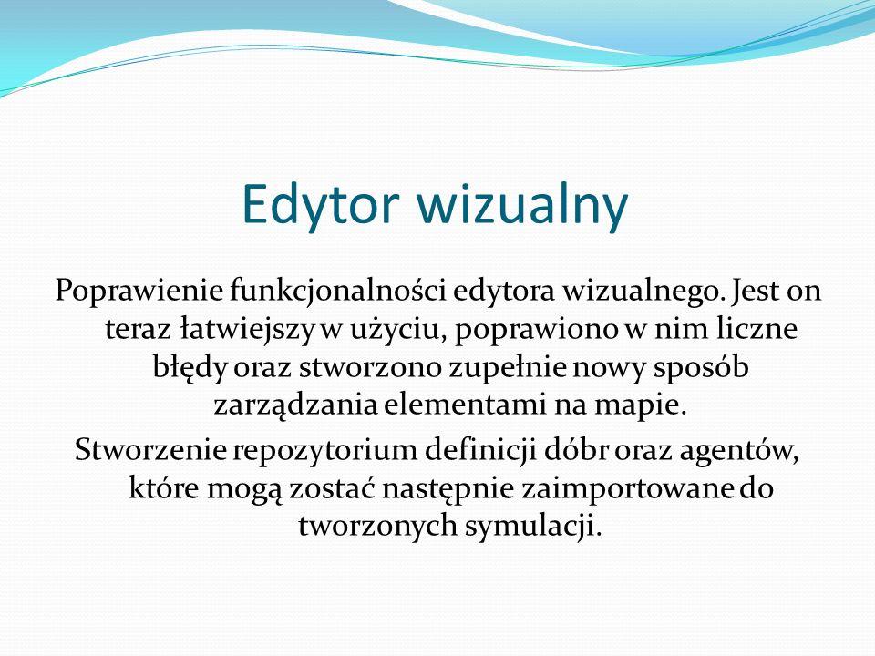Edytor wizualny Poprawienie funkcjonalności edytora wizualnego.
