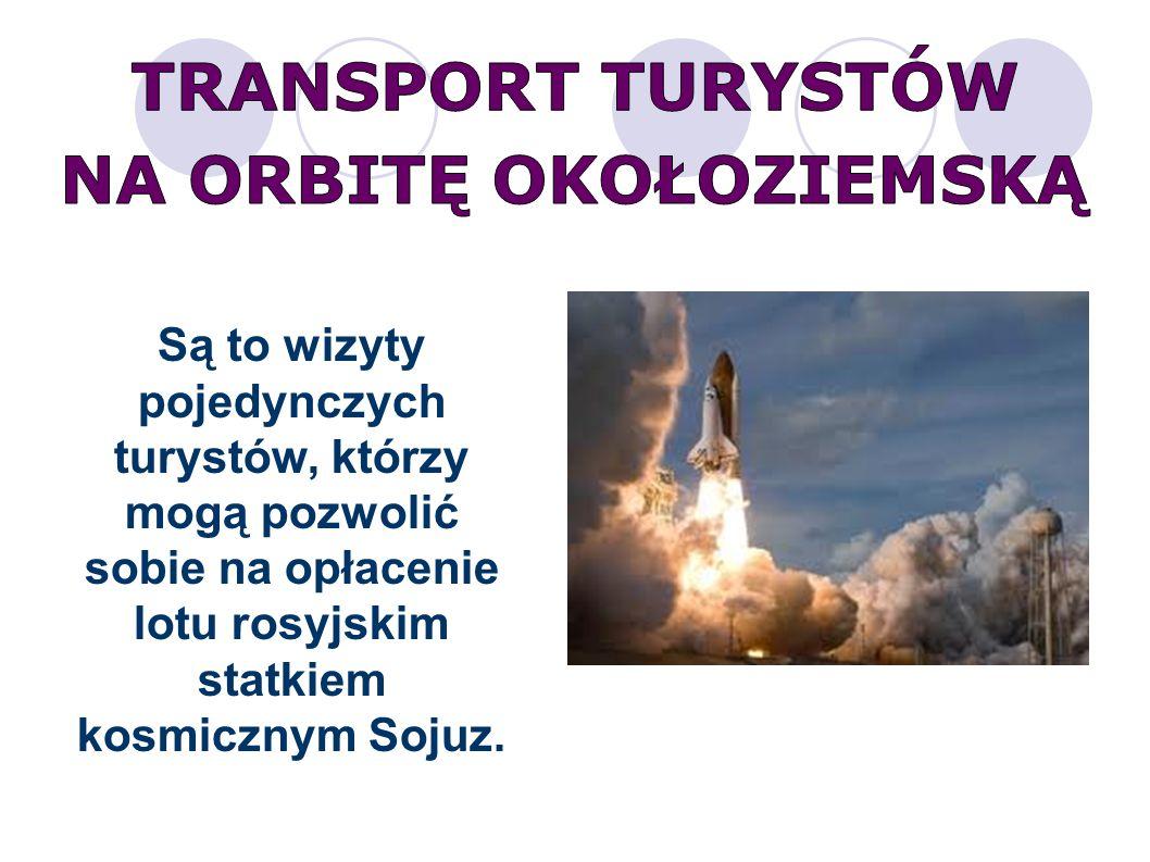 Są to wizyty pojedynczych turystów, którzy mogą pozwolić sobie na opłacenie lotu rosyjskim statkiem kosmicznym Sojuz.