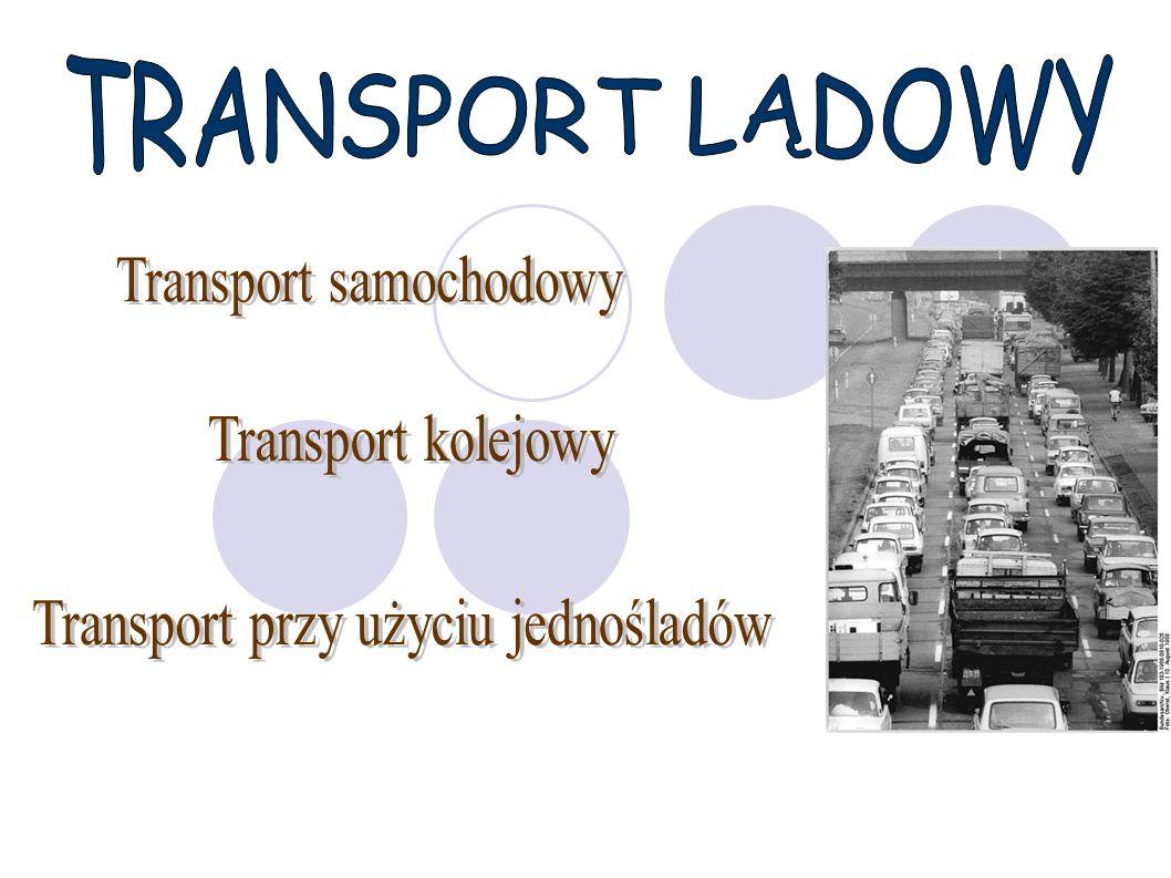 Transport samochodowy Wszystkie drogi w mniejszym lub większym stopniu wykorzystywane są przez ruch turystyczny.