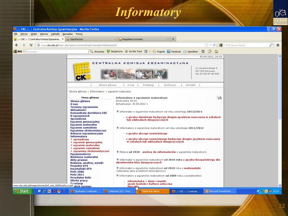 Informatory 32