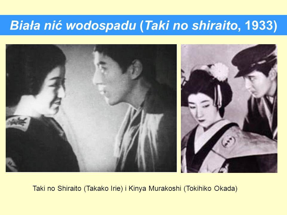Biała nić wodospadu (Taki no shiraito, 1933) Taki no Shiraito (Takako Irie) i Kinya Murakoshi (Tokihiko Okada)