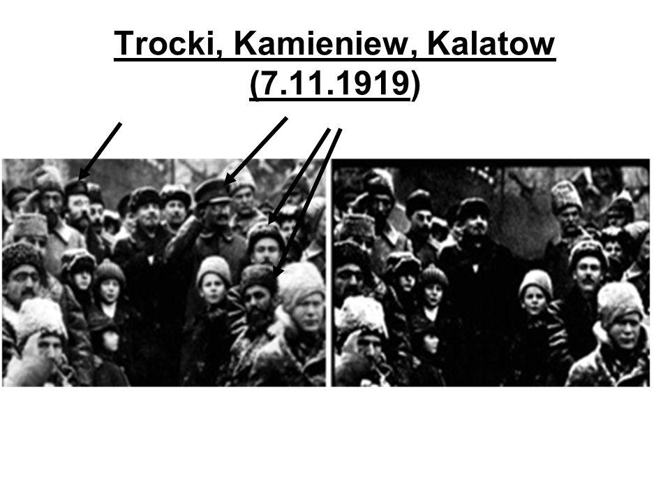 Trocki, Kamieniew, Kalatow (7.11.1919)