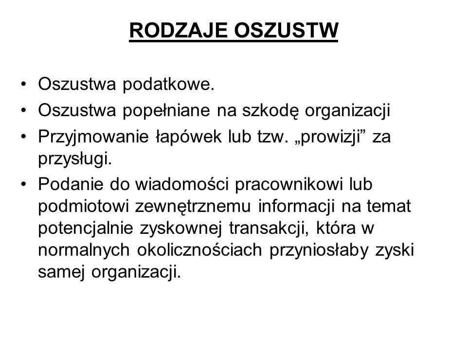 OSZUSTWA WYBORCZE Those who cast the votes decide nothing.