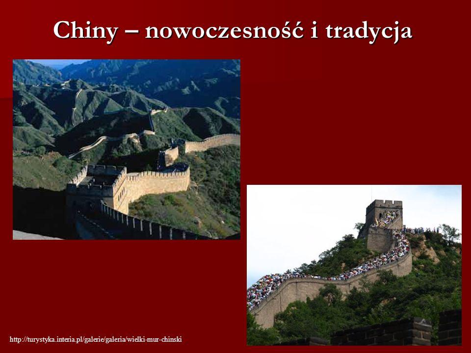 Chiny – nowoczesność i tradycja http://turystyka.interia.pl/galerie/galeria/wielki-mur-chinski