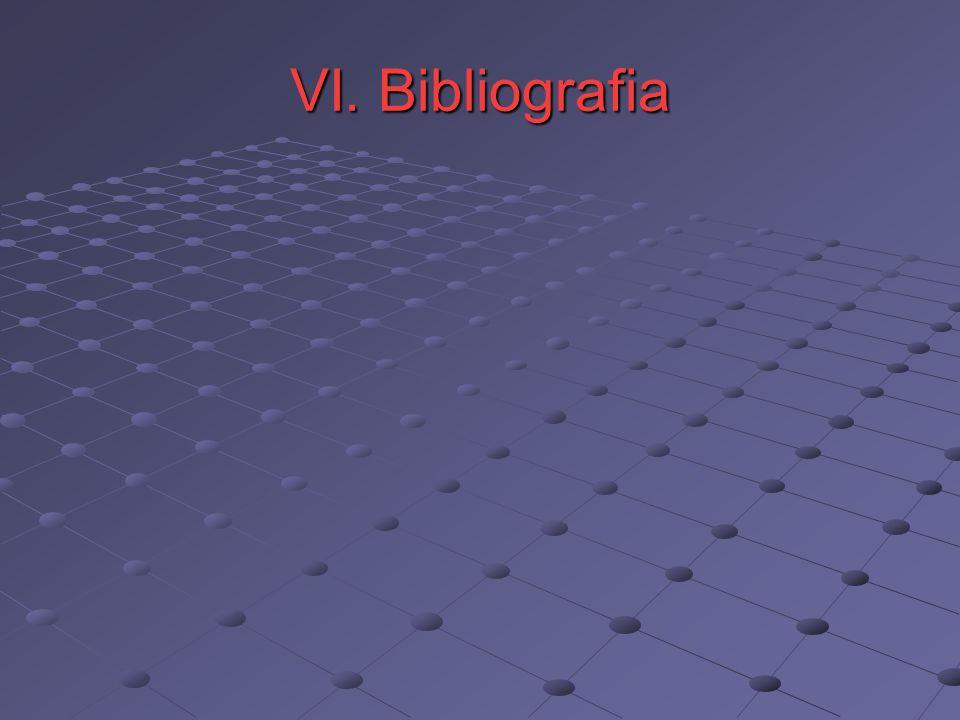 VI. Bibliografia