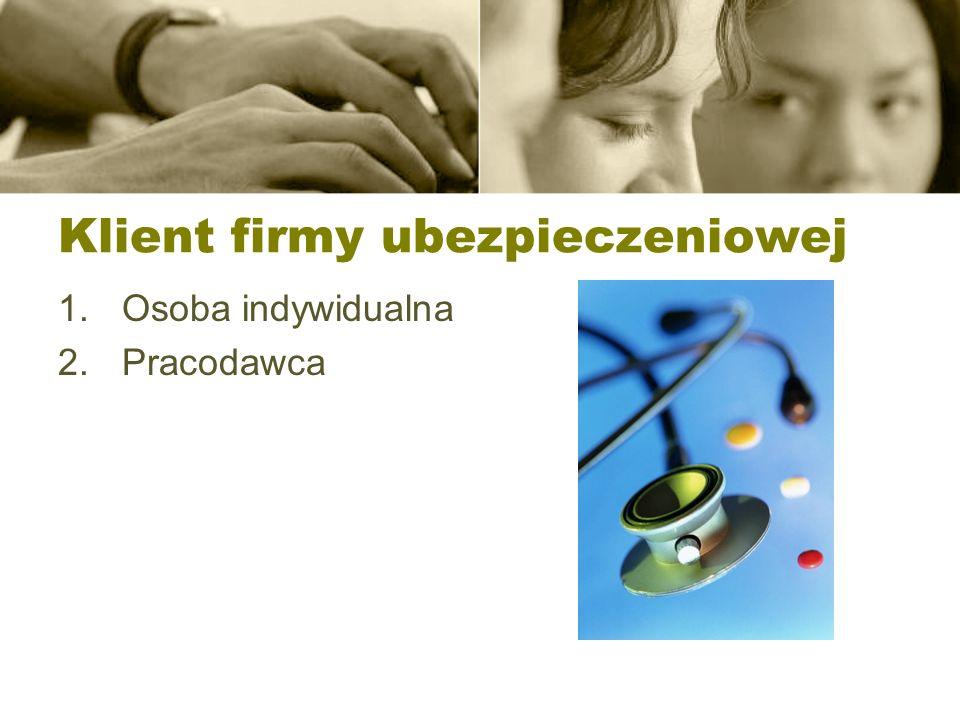 Quasi ubezpieczenie zdrowotne Brak przepisów w Polsce, Aktualnie oferowane są w ramach ubezpieczeń na życie – rozszerzone na opiekę medyczną Ubezpieczeń wypadkowych Poza Polską (wg.stanu na 2006/7) chorobowe i zdrowotne