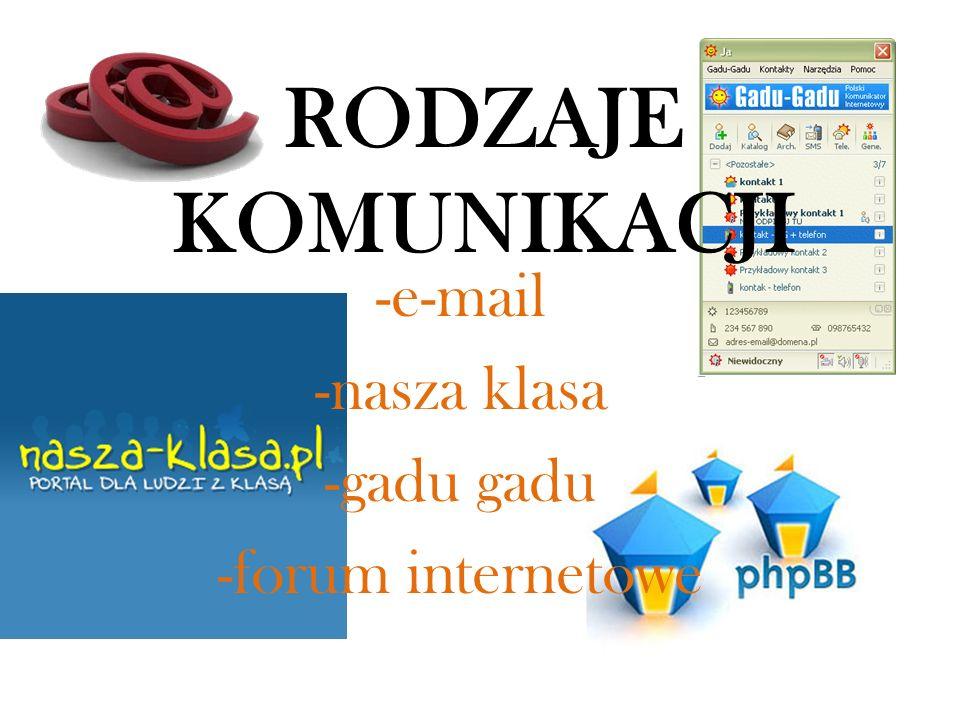 E-mail Poczta elektroniczna, e-poczta to jedna z usług internetowych, w prawie zwanych usługami świadczonymi drogą elektroniczną, służąca do przesyłania wiadomości tekstowych (listów elektronicznych).