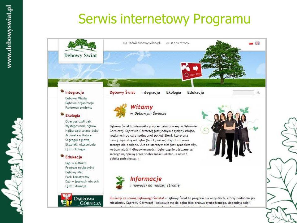 Serwis internetowy Programu