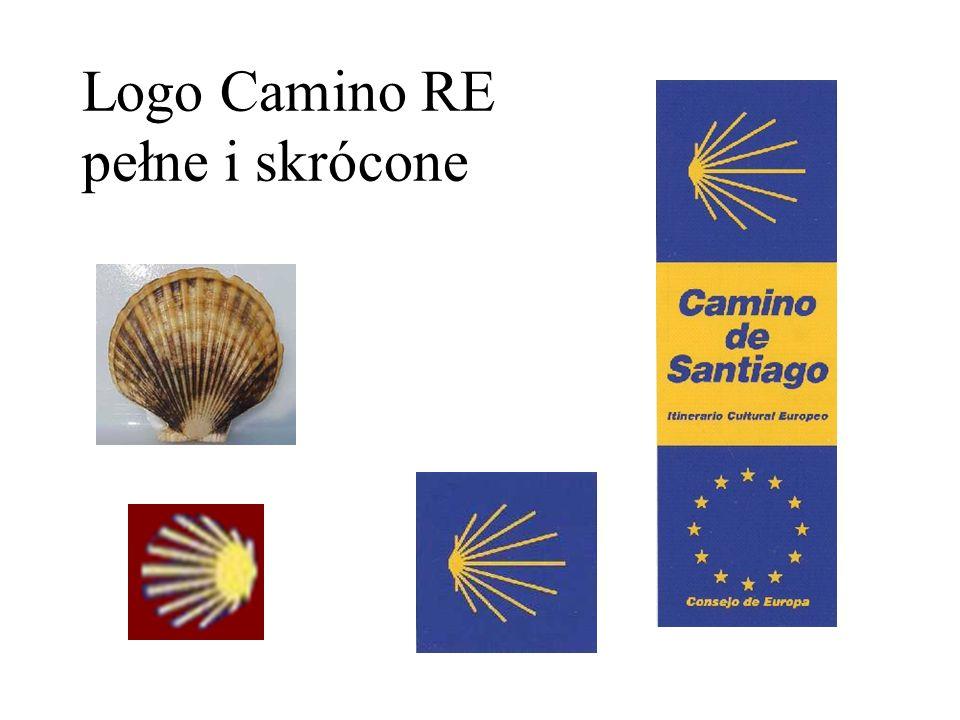 Logo Camino RE pełne i skrócone