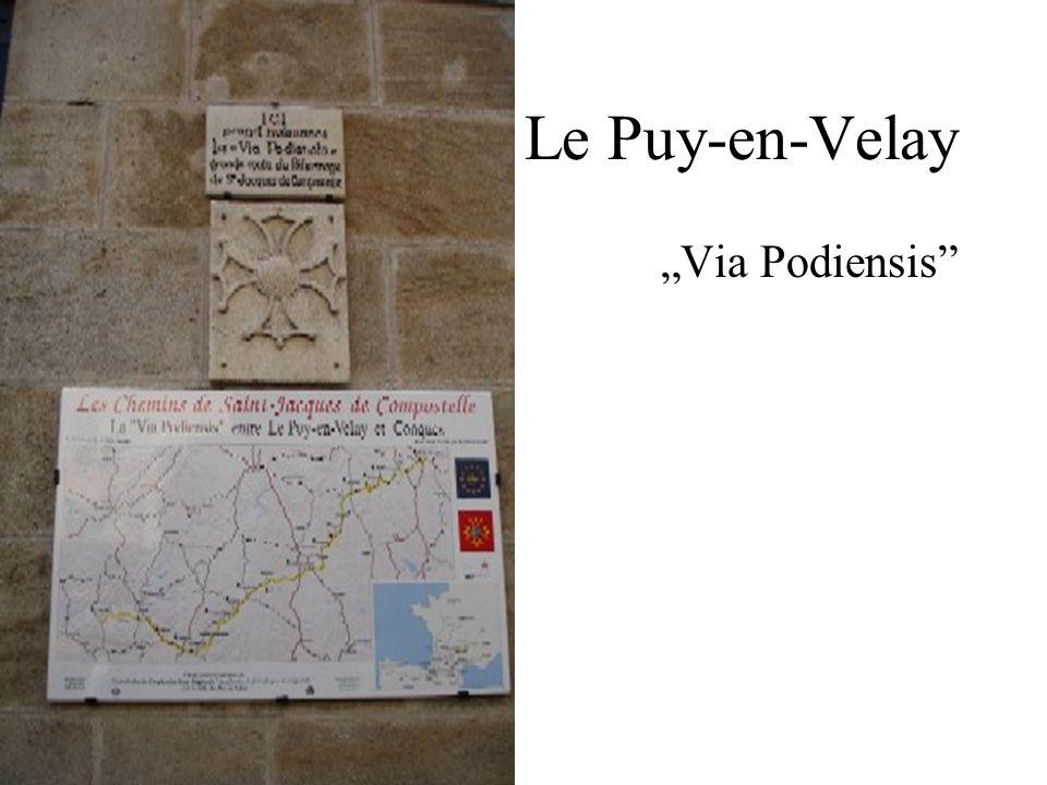 Le Puy-en-Velay Via Podiensis