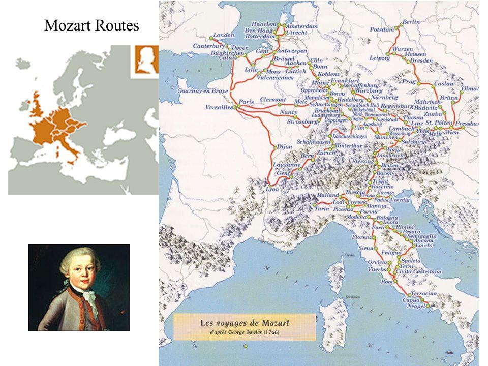 Mozart Routes