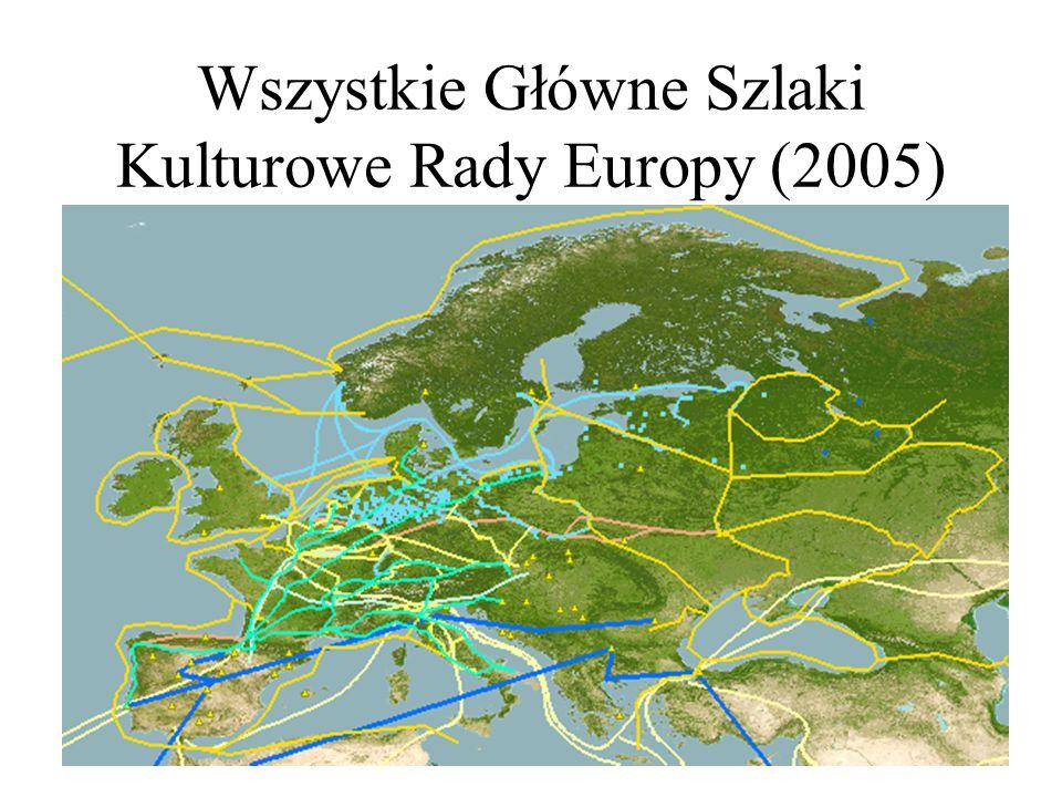 Wszystkie Główne Szlaki Kulturowe Rady Europy (2005)
