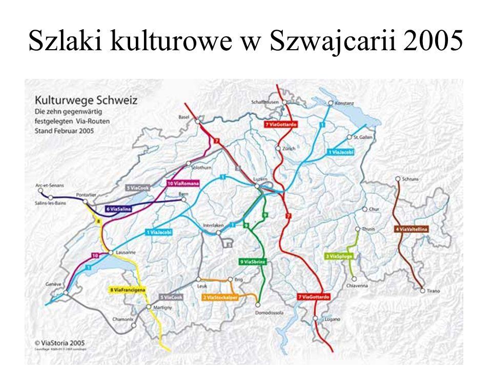Szlaki kulturowe w Szwajcarii 2005