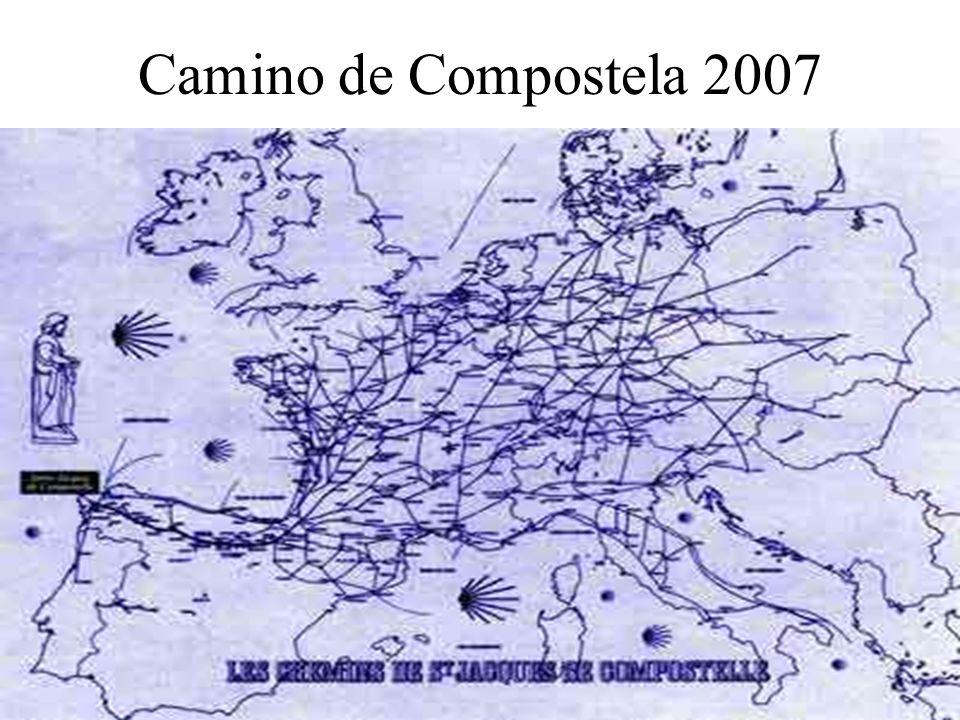 Camino de Compostela 2007