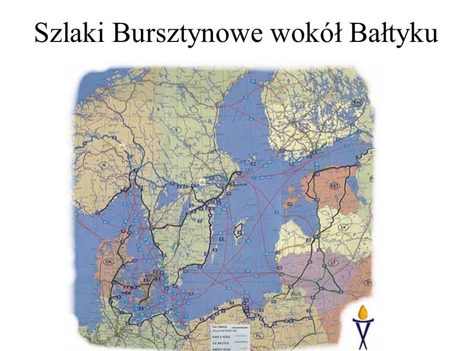 Szlaki Bursztynowe wokół Bałtyku