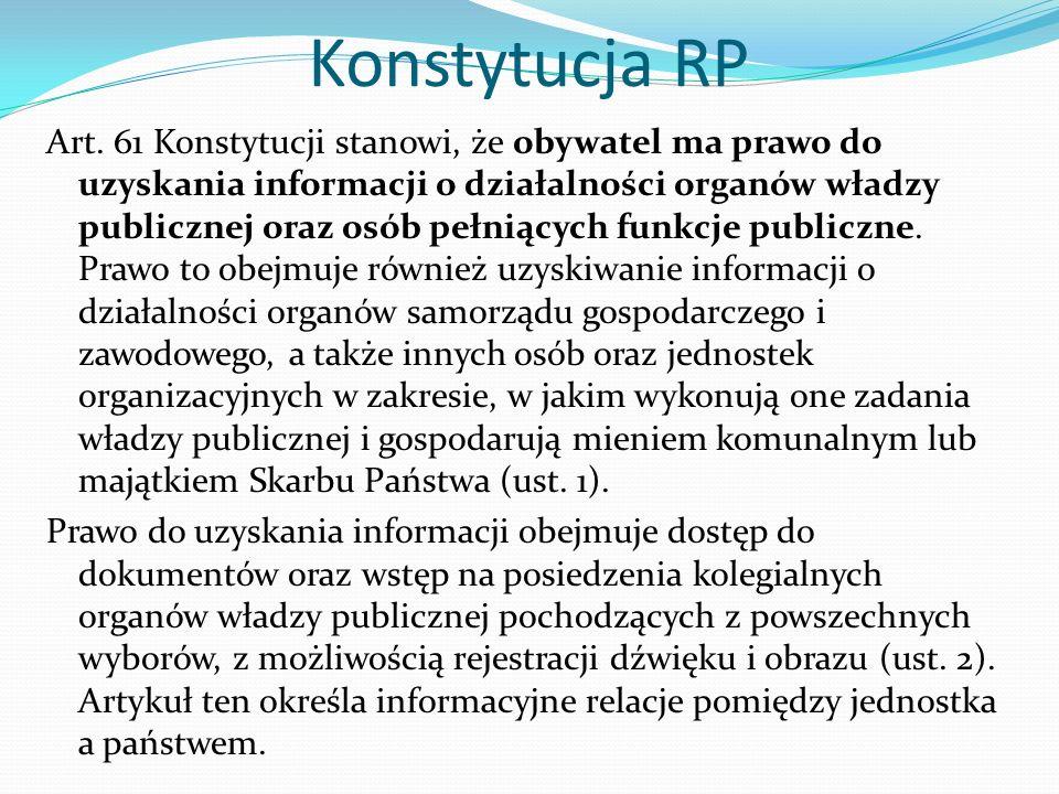 Konstytucja RP Art.