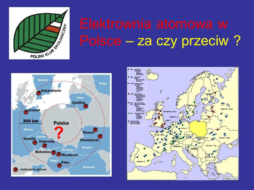 Elektrownia atomowa w Polsce – za czy przeciw