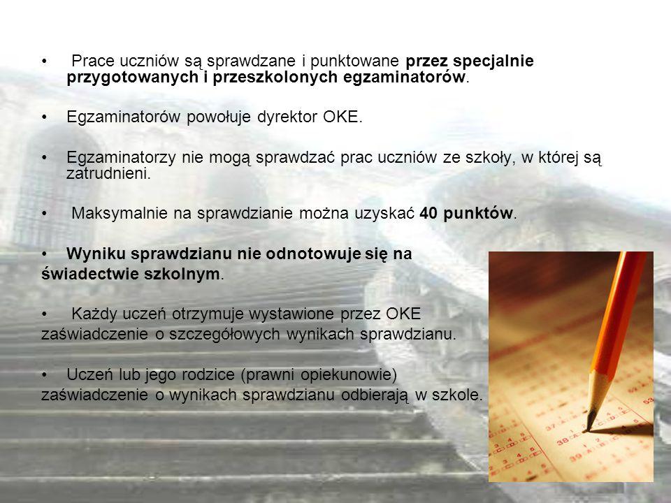 Ministerstwo Edukacji Narodowej http://www.men.gov.pl/index.php?option=com_content&view=category &layout=blog&id=43&Itemid=66 Centralna Komisja Egzaminacyjna http://www.cke.edu.pl/index.php