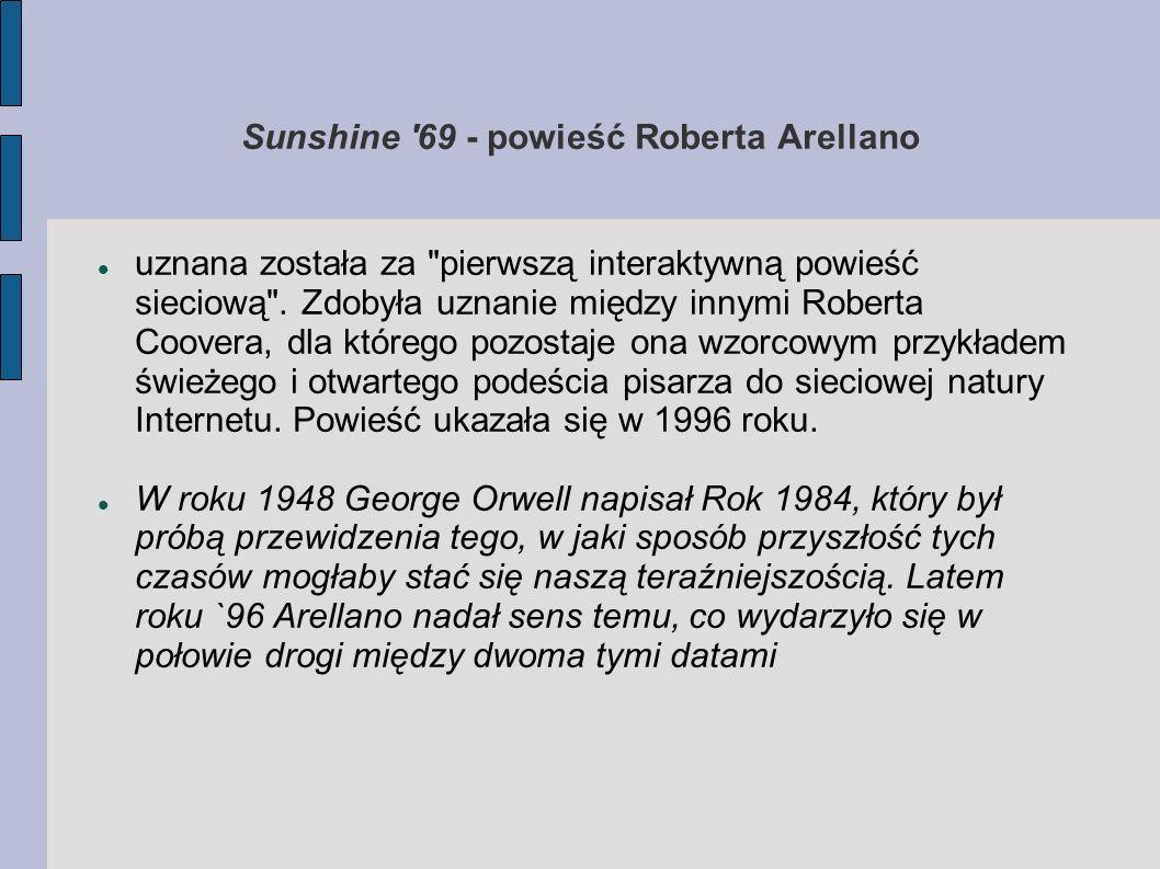 Sunshine '69 - powieść Roberta Arellano uznana została za