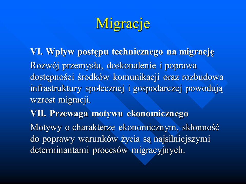 Migracje VI.