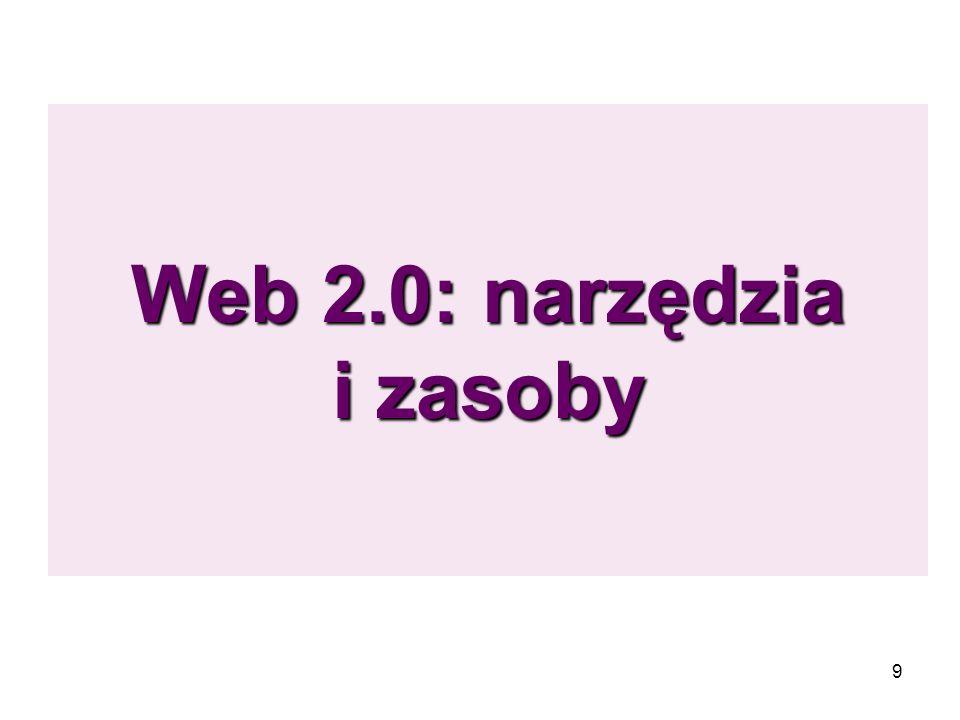 9 Web 2.0: narzędzia i zasoby