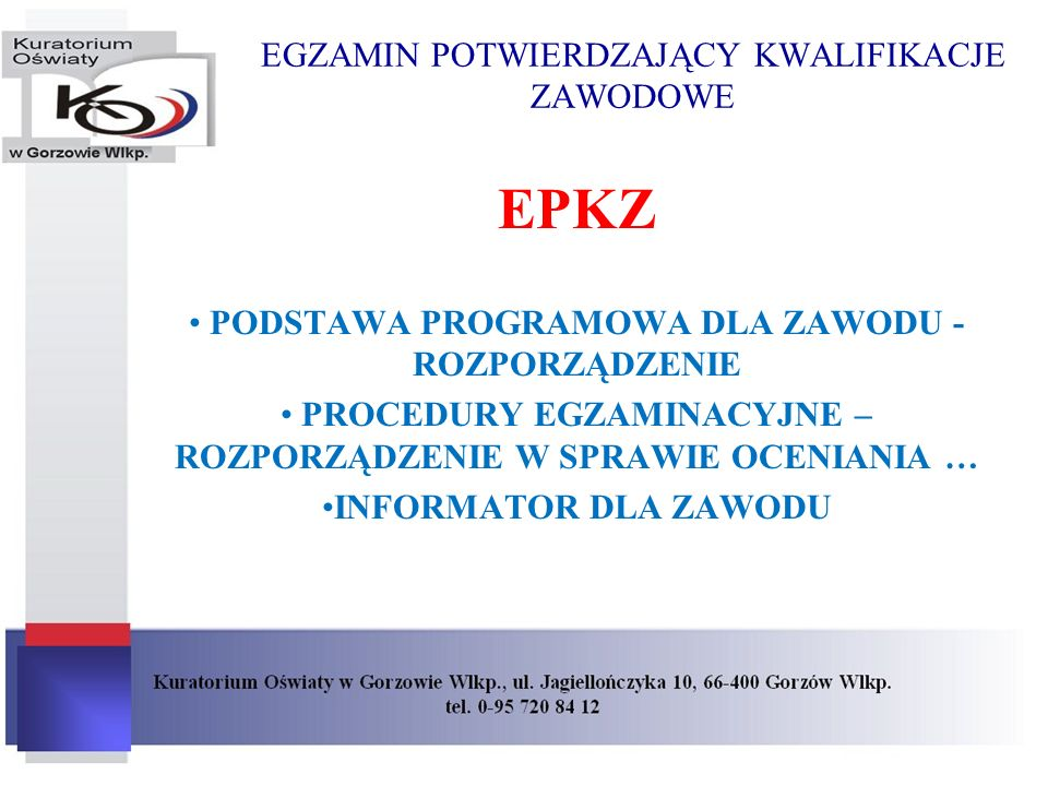 EUROPEJSKIE RAMY KWALIFIKACJI Idea ta pojawiła się w 2004 r., w ślad za nią poszły Zalecenia Parlamentu Europejskiego i Rady w sprawie Europejskich Ram Kwalifikacji dla Uczenia się przez Całe Życie z 23 kwietnia 2008 r.